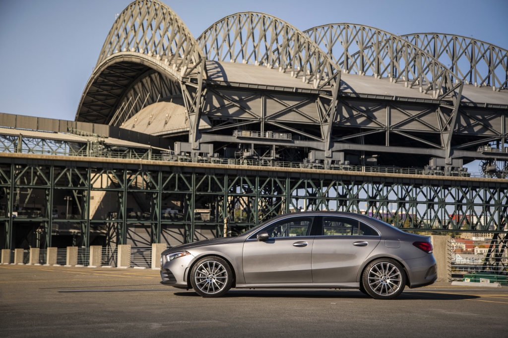 Mercedes-Benz A-Class Sedan side