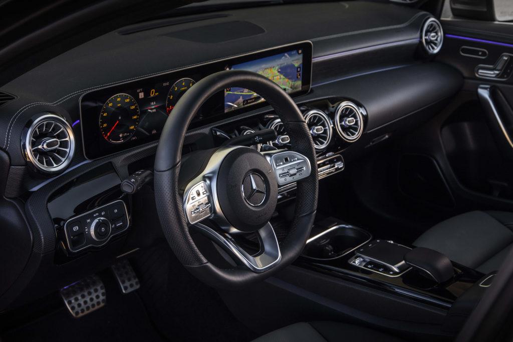 Mercedes-Benz A-Class Sedan dashboard