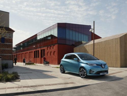 Νέο Renault Zoe front