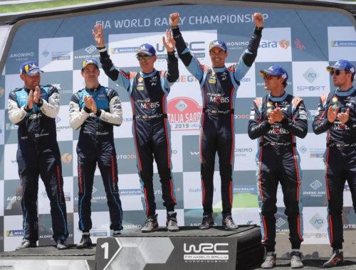 Νίκη της Hyundai στη Σαρδηνία
