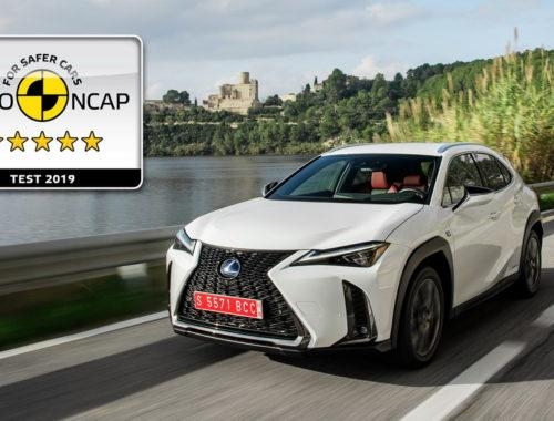 Πεντάστερο το Lexus UX Crossover στις δοκιμές του Euro NCAP