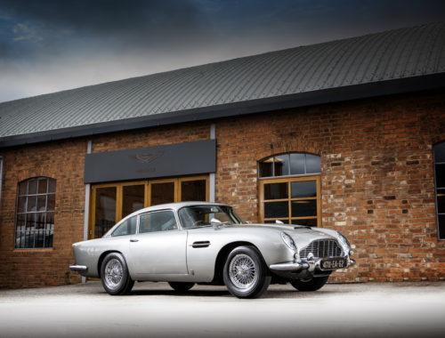 Δημοπρατείται η Aston Martin DB5 του Τζέιμς Μποντ