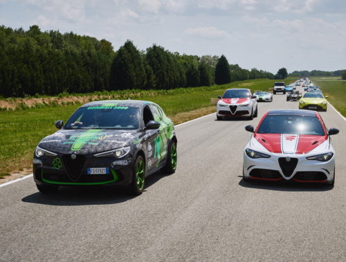 H Alfa Romeo καλωσόρισε το Gumball 3000 στο Balocco