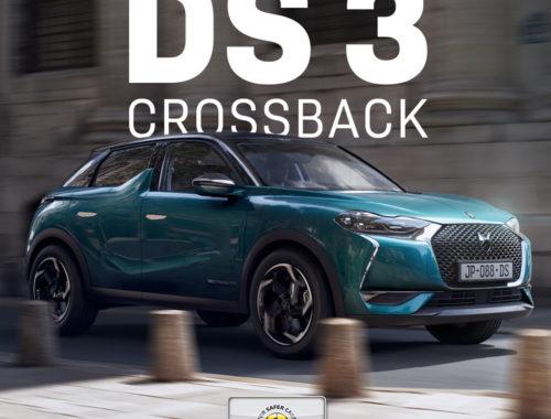 Πέντε αστέρια για το DS3 Crossback με Safety Pack