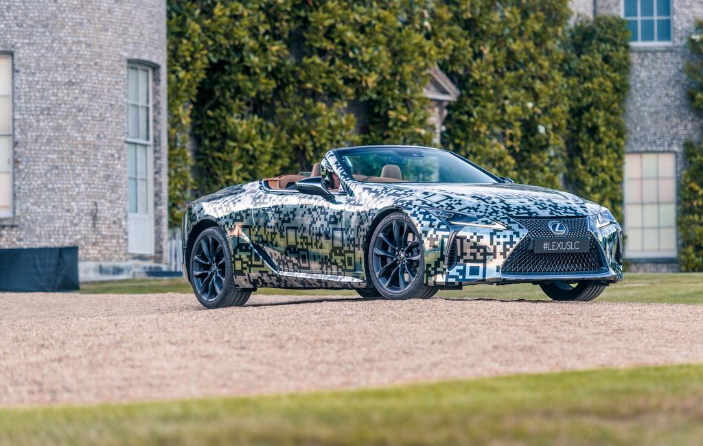 Lexus LC convertible