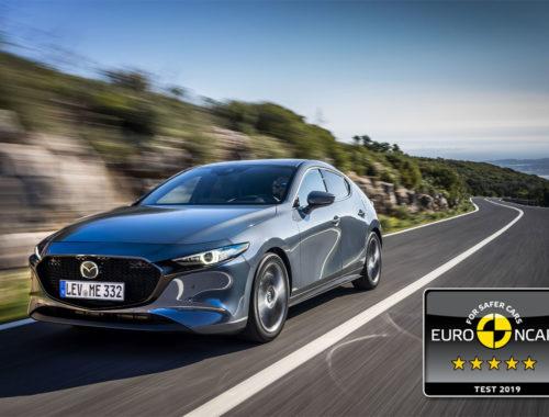 Πεντάστερο το νέο Mazda 3 στις δοκιμές πρόσκρουσης του Euro NCAP