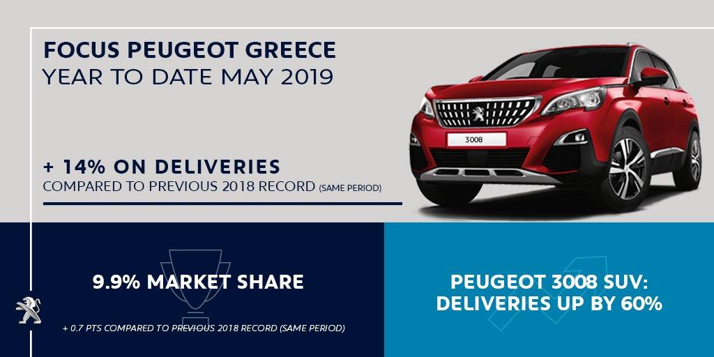 Συγχαρητήρια της Peugeot στην ελληνική αντιπροσωπεία