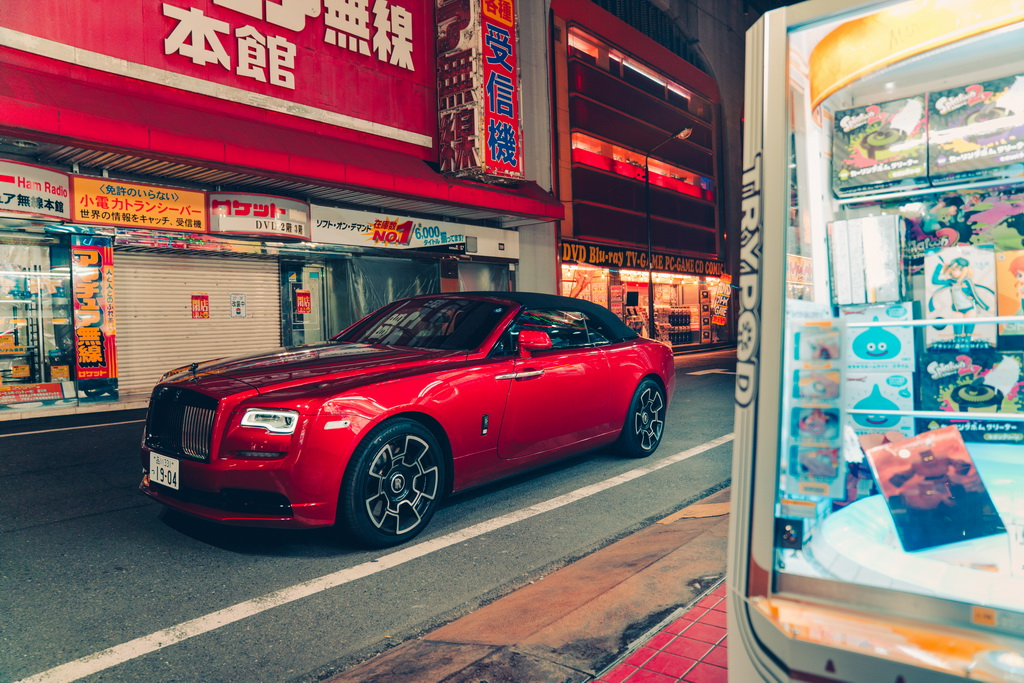 ROLLS ROYCE TOKYO AFTER HOURS