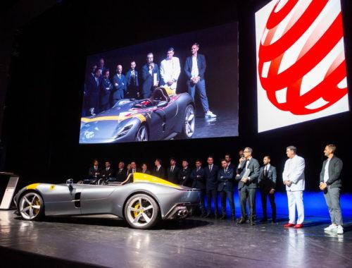 Διάκριση για τη σχεδιαστική ομάδα της Ferrari