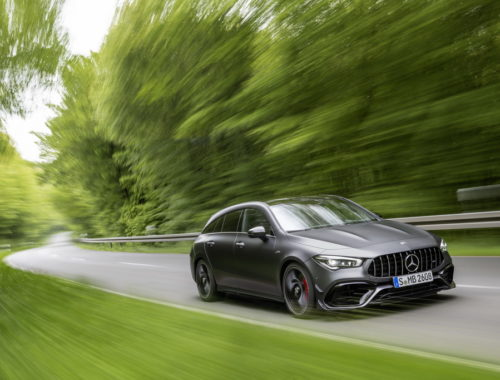 Νέα Mercedes AMG CLA 45 4MATIC+ Shooting Brake