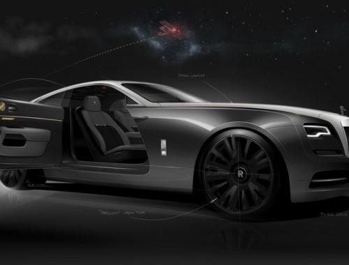 Αυτή είναι η Rolls-Royce Wraith Eagle VIII