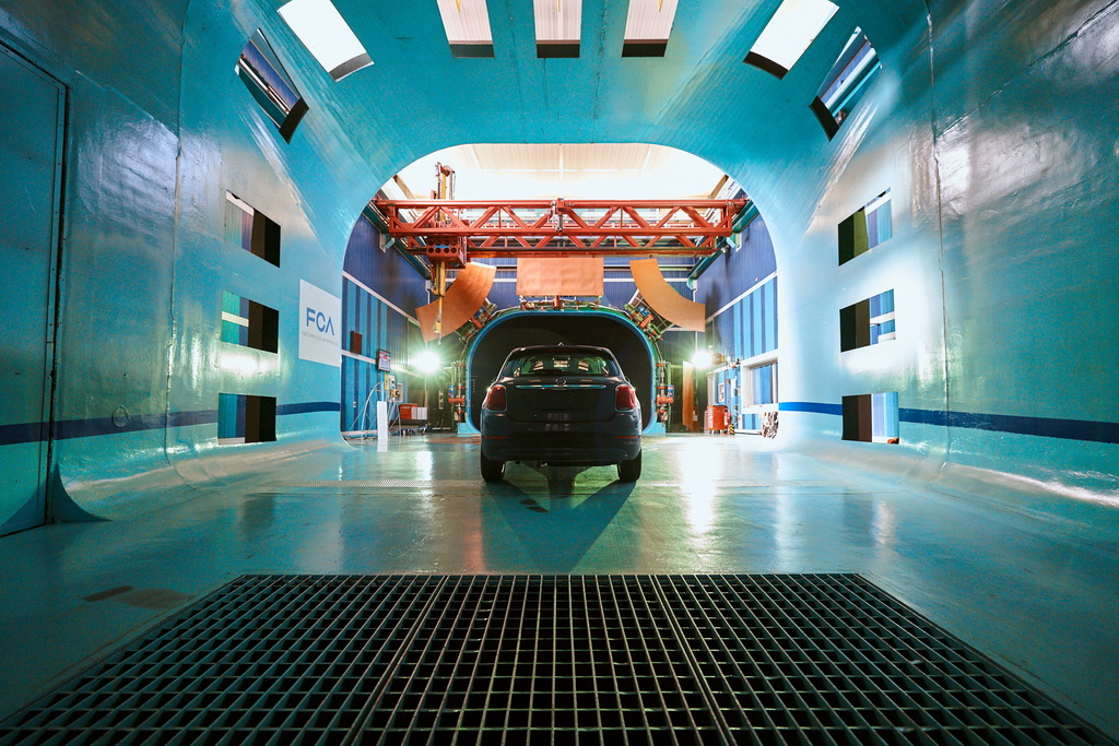 Fiat Orbassano wind tunnel