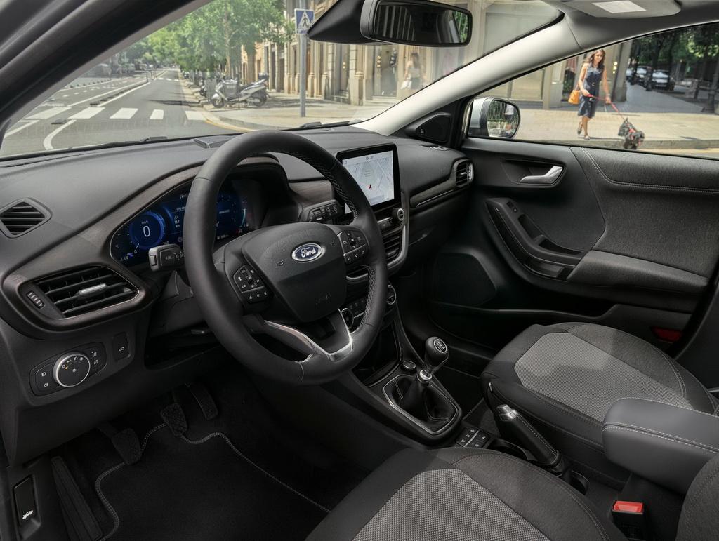 Ford Puma Titanium X cockpit
