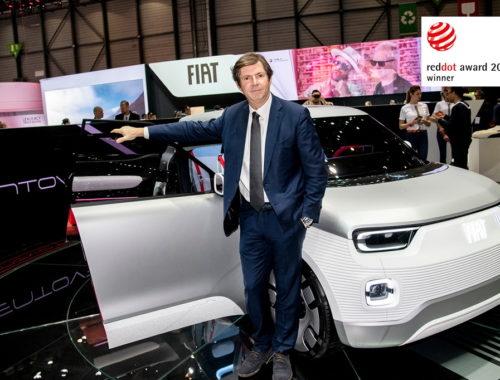 Στο Fiat Concept Centoventi το Red Dot Award 2019