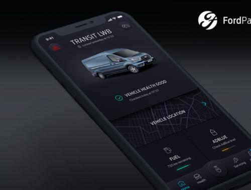 Νέα εφαρμογή FordPass Pro