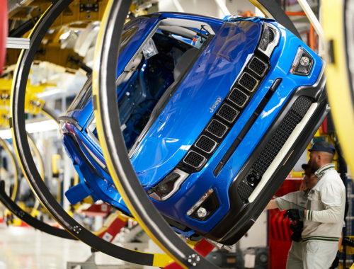 Η γραμμή παραγωγής του Jeep Compass μεταφέρεται