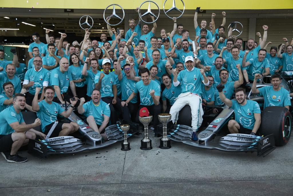 Έκτο σερί πρωτάθλημα στη Formula 1 για τη Mercedes-AMG Petronas