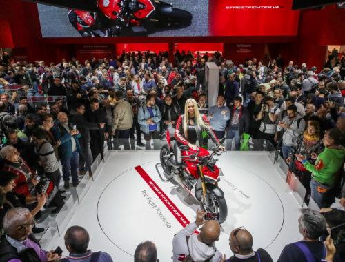 Μια Ducati, «η πιο όμορφη μοτοσικλέτα» στην EICMA 2019
