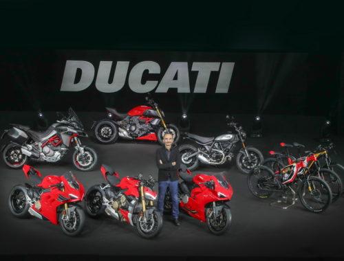 Στην EICMA 2019 οι νέες μοτοσικλέτες της Ducati