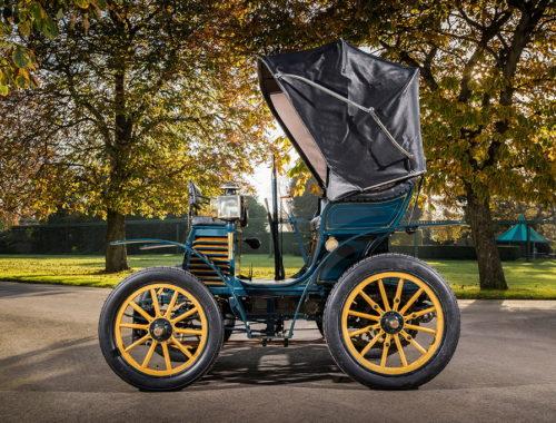 Το Fiat 3,5 hp του 1899 έλαβε μέρος σε αγώνα