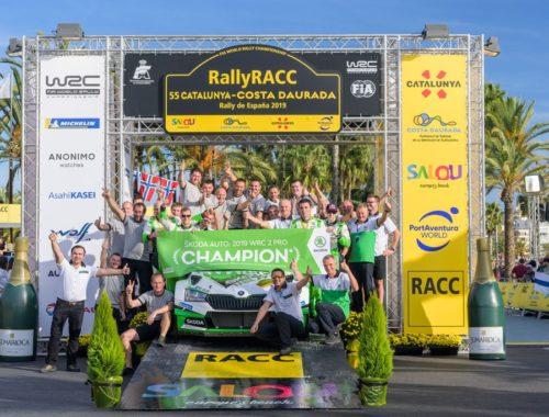 Μεγάλες επιτυχίες για τη Skoda σε WRC 2 Pro και WRC 2