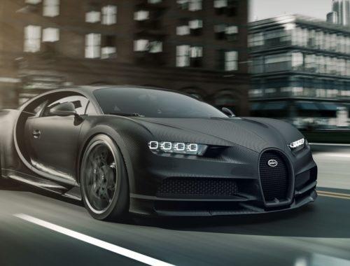 Bugatti Edition Chiron Noire