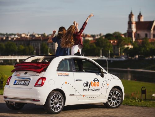 Fiat 500 car sharing
