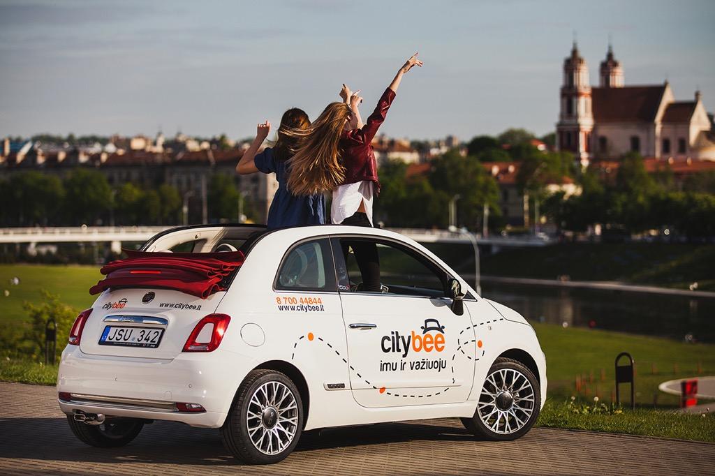 Υπηρεσίες car sharing από το Fiat 500