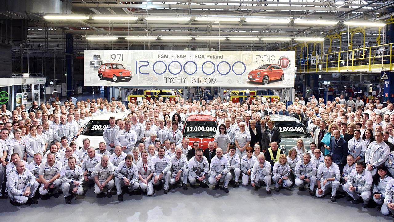 Η FCA έφτασε τα 12 εκατομμύρια οχήματα στο Τίσι