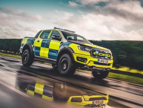 Το Ford Ranger Raptor στη διάθεση της αστυνομίας της Βρετανίας