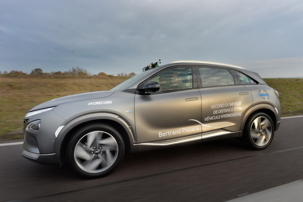 Παγκόσμιο ρεκόρ για το Hyundai Nexo