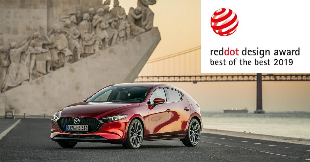 Το Mazda3 αναδείχθηκε Red Dot Best of the Best 2019