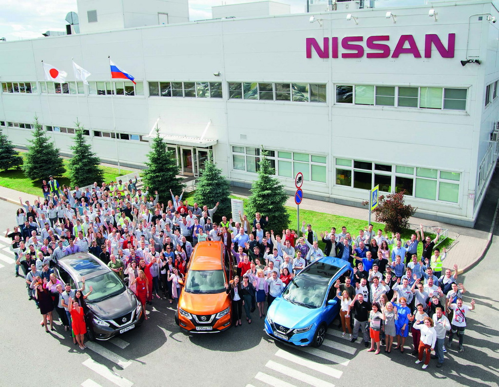 Η Nissan κλείνει 10 χρόνια στην Αγία Πετρούπολη