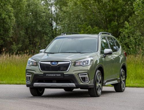 Νέο Subaru Forester E-Boxer