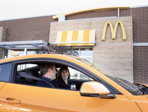 Συνεργασία Ford και McDonald's