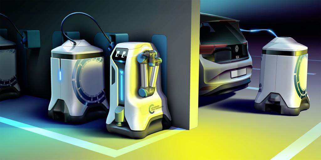 VW - Αυτόνομα ρομπότ φόρτισης