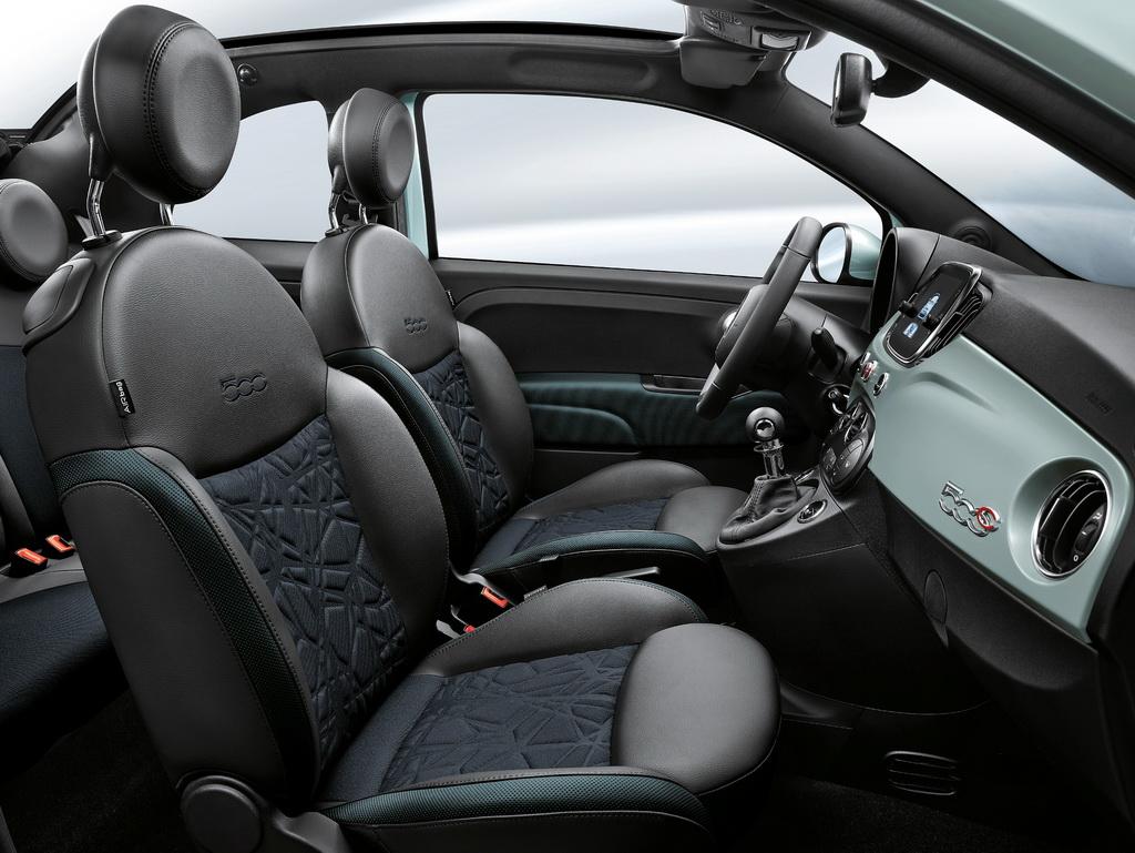 Interior Fiat 500 Hybrid