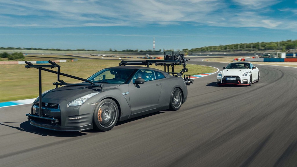 Το Nissan GT-R σε ρόλο κινηματογραφικής κάμερας