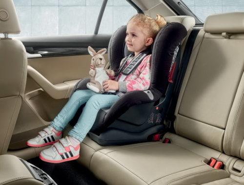 Η Skoda αναφέρεται στην ασφάλεια των νέων επιβατών