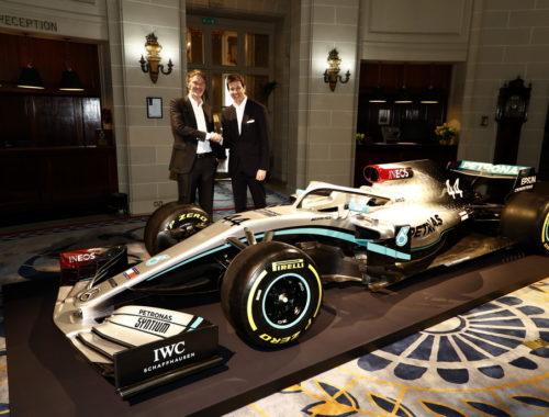 Συνεργασία Mercedes-AMG Petronas με INEOS
