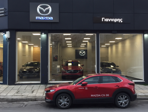 Επέκταση δικτύου πωλήσεων Mazda.