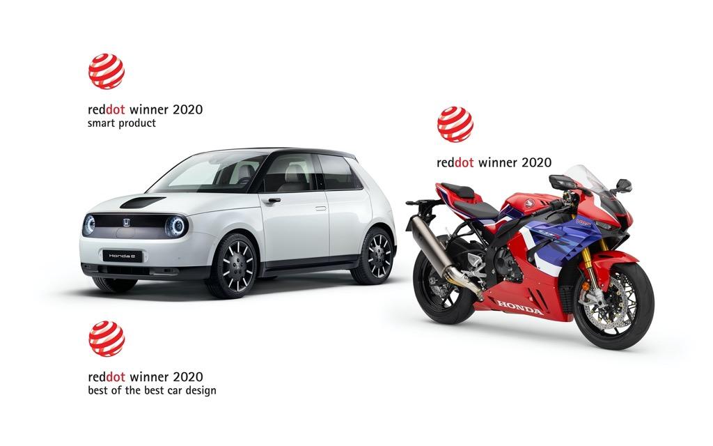 Τρία βραβεία Red Dot για τη Honda