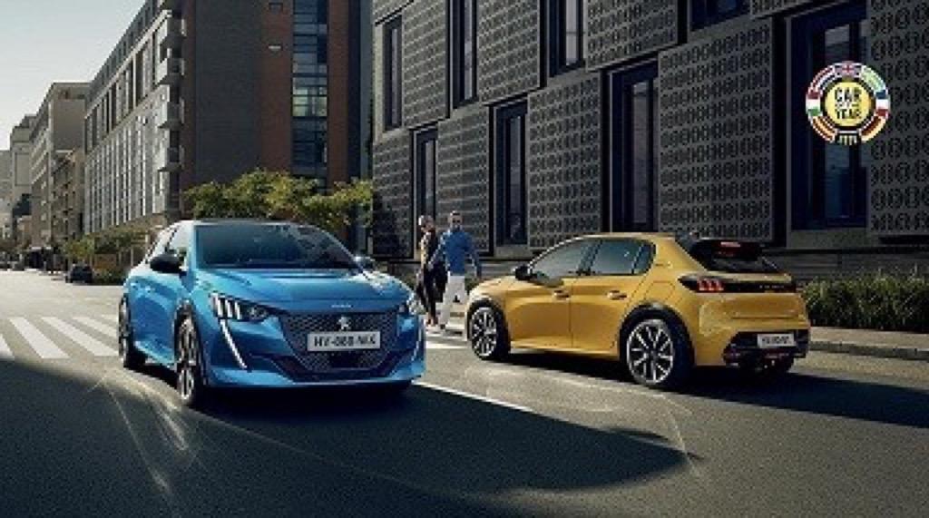 Τα έξι ''Car of the Year'' Peugeot