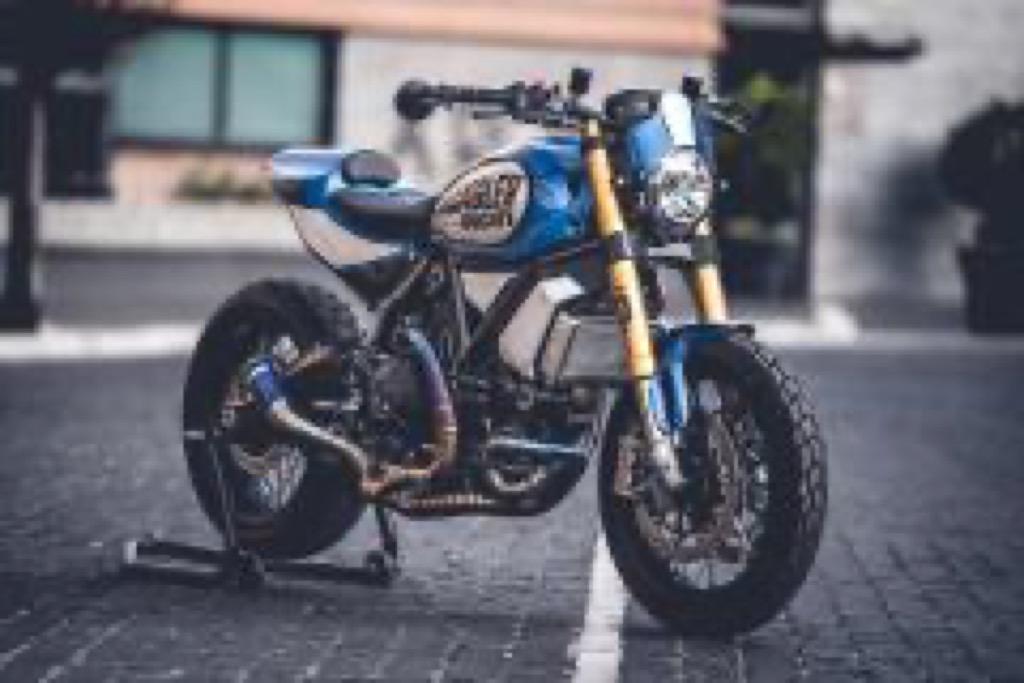 Ducati Custom made Scrambler