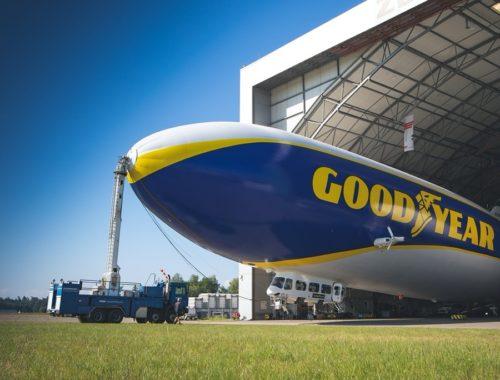 Το Goodyear Blimp επιστρέφει στην Ευρώπη