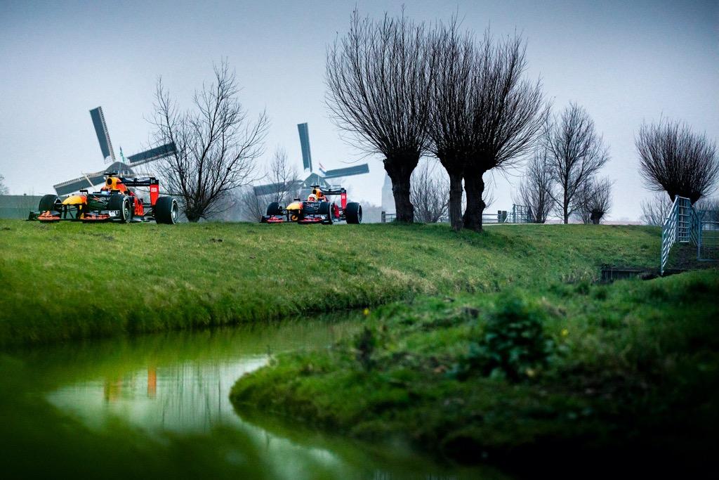 Verstappen και Albon στην Ολλανδία
