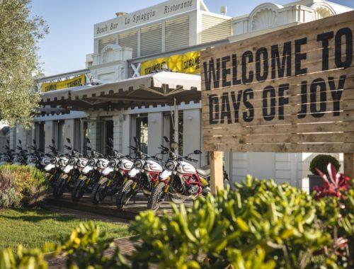 Οι Days of Joy του Ducati Scrambler επιστρέφουν