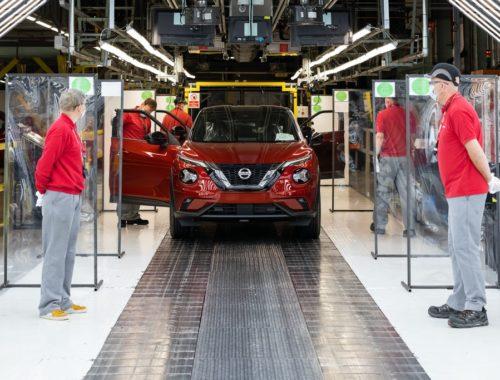Η Nissan επανεκκινεί στο Sunderland