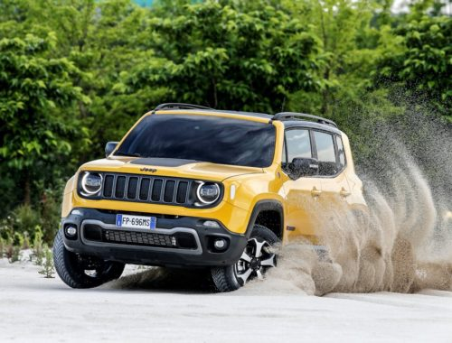 Jeep Renegade και X-Wing Project