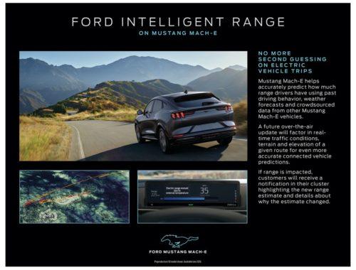 Σύστημα Intelligent Range της Mustang Mach-E